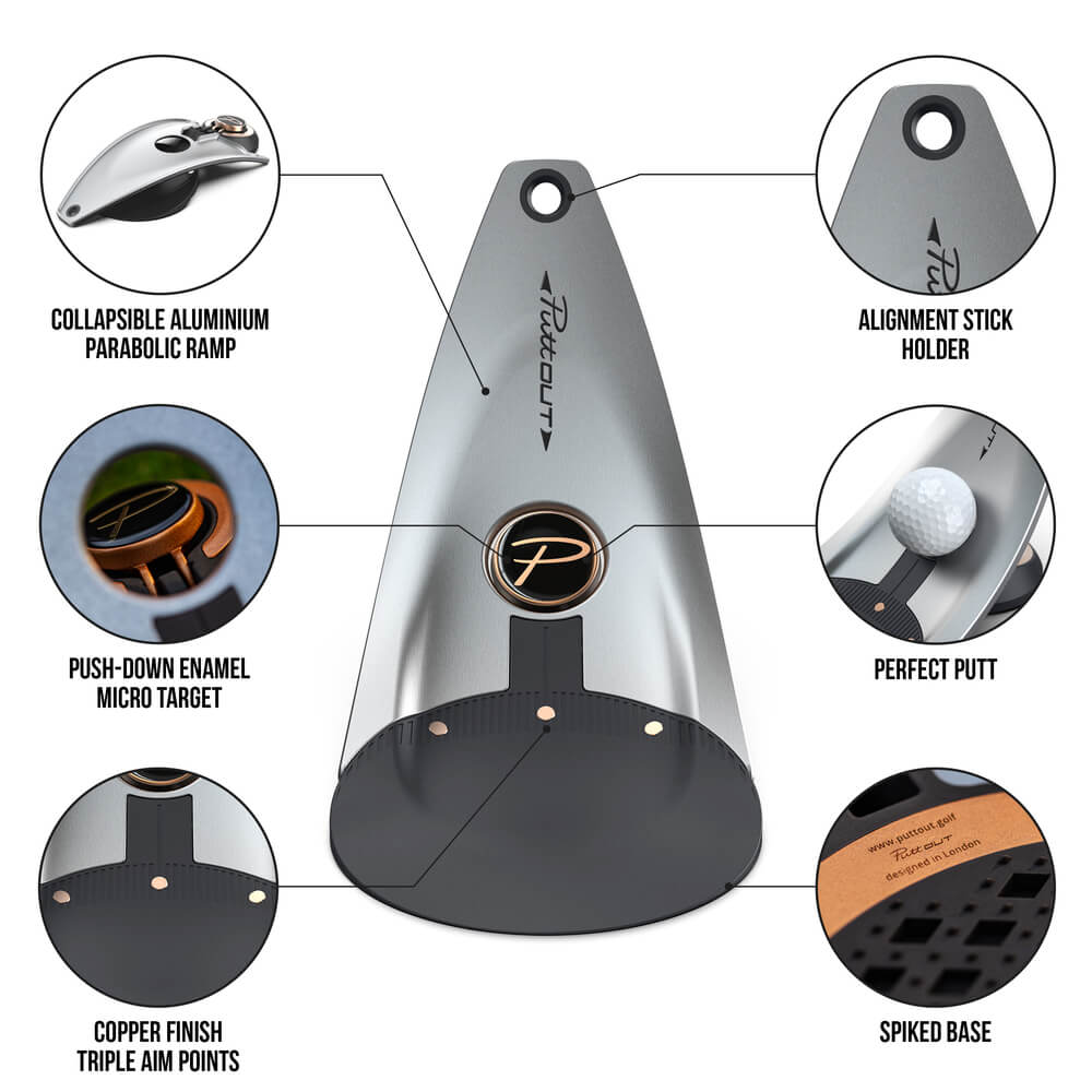 PuttOUT Platinum Foldable Design Features