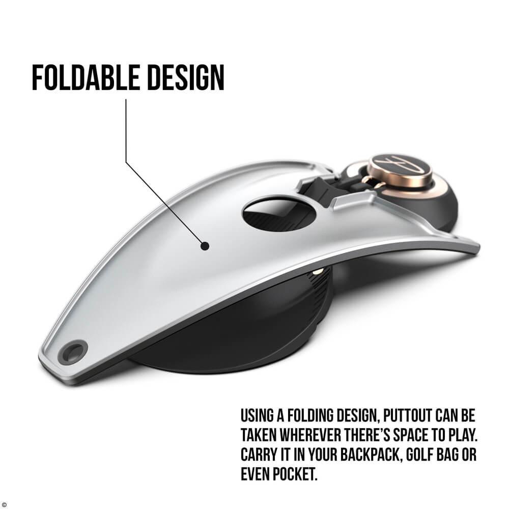 PuttOUT Platinum Foldable Design