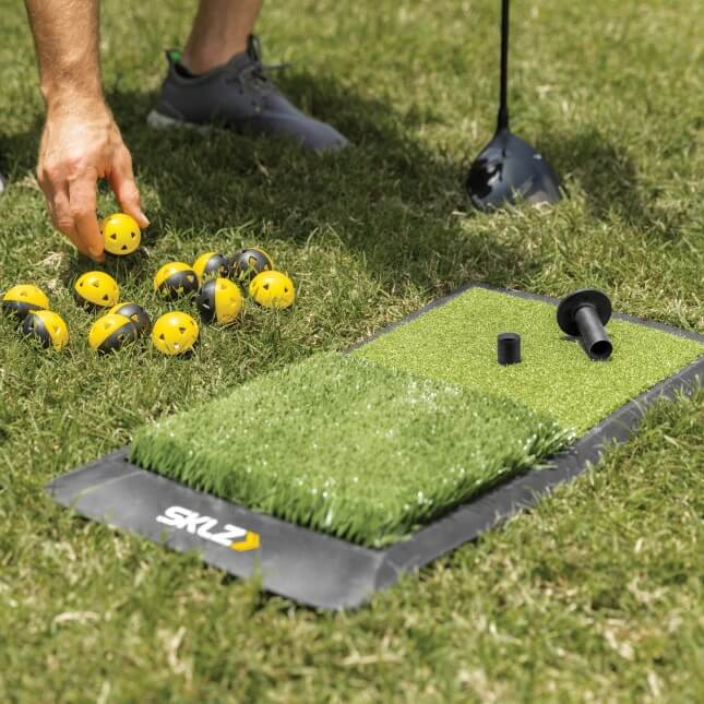 SKLZ Home Driving Range Kit Outdoors Balls and Mat