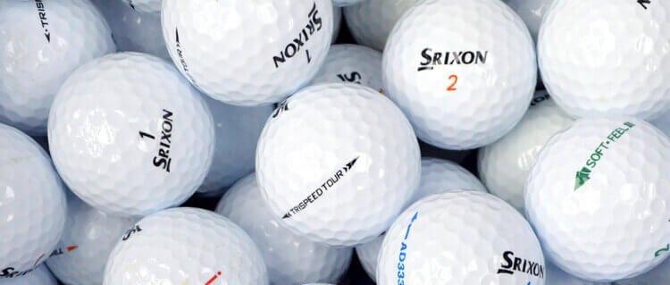 Srixon Mix Lake Balls Thin Cropped