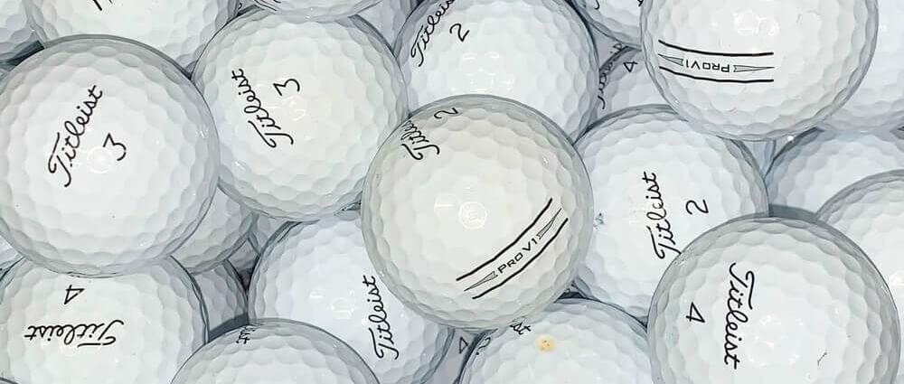 Titleist Pro V1 V1x AIM Lake Balls Thin