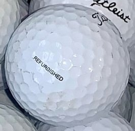 Titleist Refinished Rejects Golf Ball