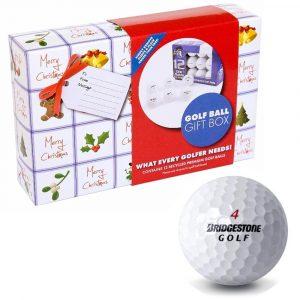 Christmas Bridgestone Golf Ball Gift Pack