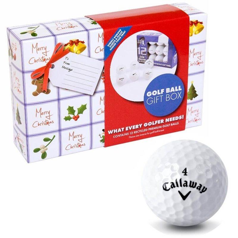 Christmas Callaway Golf Ball Gift Pack