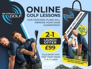 Me and My Golf Launch Offer