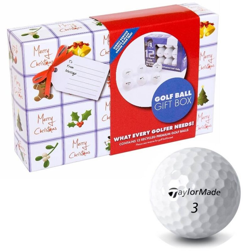 Christmas Taylormade Golf Ball Gift Pack