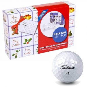 XMAS Titleist Golf Ball Gift Pack